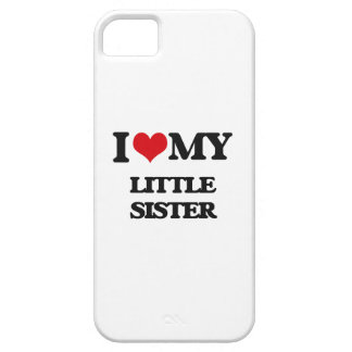 I love my Little Sister iPhone 5 Covers
