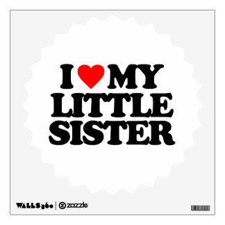 I LOVE MY LITTLE SISTER ROOM GRAPHICS