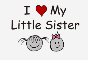 I Love My Little Sister T Shirts T Shirt Design Printing Zazzle