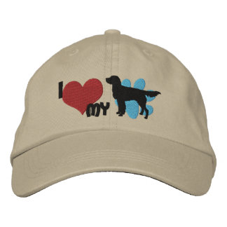 I Love my Llewellin Setter Embroidered Hat