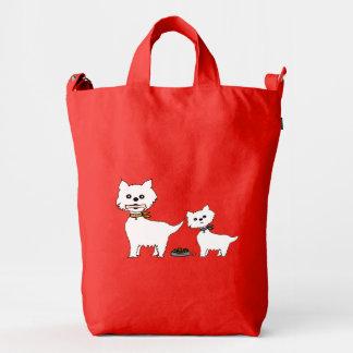 I love my lluna duck canvas bag