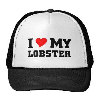 I love my Lobster Trucker Hat