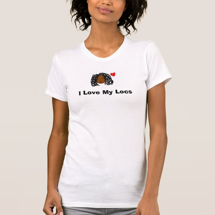 I Love My Locs T-Shirt