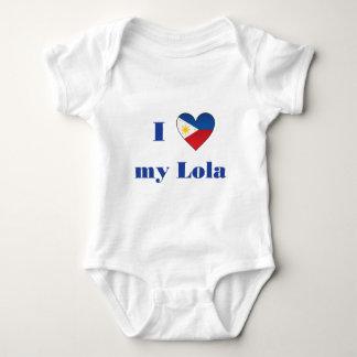 I Love My Lola1 Baby Bodysuit