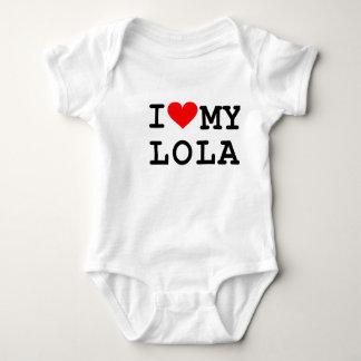 I love my lola baby bodysuit