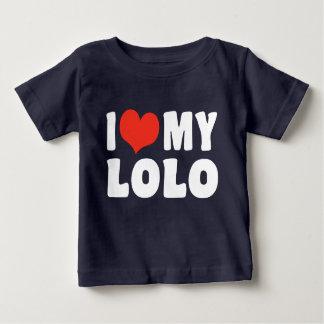 I Love My Lolo Baby T-Shirt