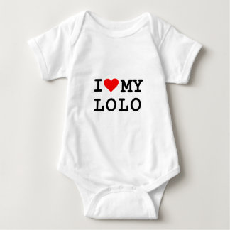 I love my lolo. It's more fun in the Philippines! Baby Bodysuit