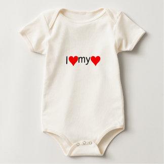 I love my love baby bodysuit