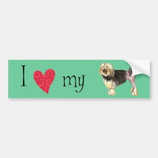 I Love my Lowchen Bumper Sticker