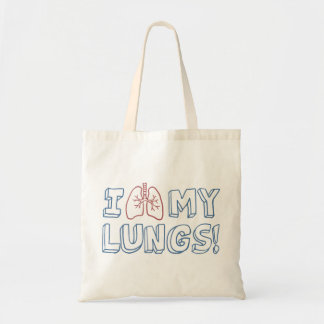 I Love My Lungs Tote Bag
