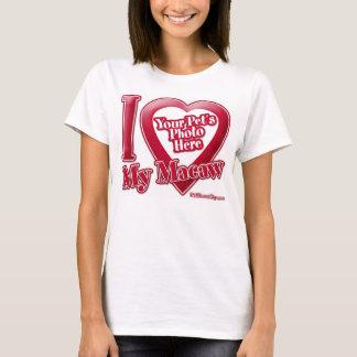 I Love My Macaw - Photo T-Shirt