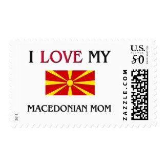 I Love My Macedonian Mom Postage