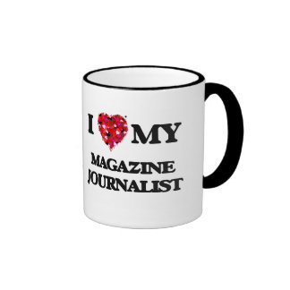I love my Magazine Journalist Ringer Coffee Mug