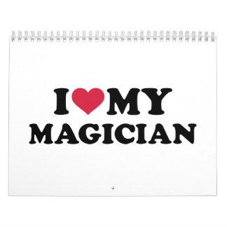 I love my Magician Calendar