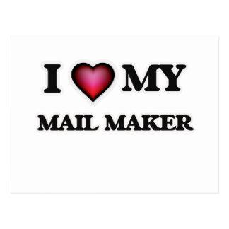 I love my Mail Maker Postcard