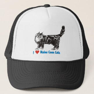 I love my Maine Coon Cat Trucker Hat