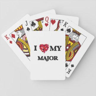 I love my Major Poker Deck