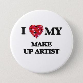 I love my Make Up Artist Pinback Button