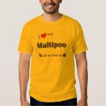 I Love My Maltipoo (Female Dog) T-shirts
