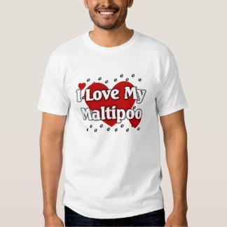 I love my Maltipoo Tee Shirt