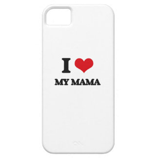 I Love My Mama iPhone 5 Cover