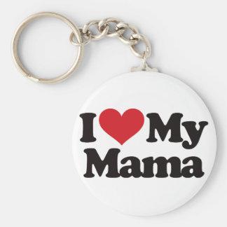I Love My Mama Key Chain