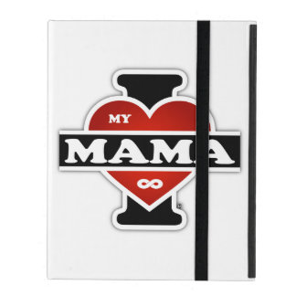 I Love My Mamma To Infinity iPad Folio Case