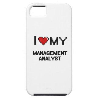 I love my Management Analyst iPhone 5 Case