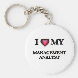 I love my Management Analyst Keychain