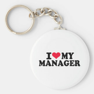I love my Manager Keychains