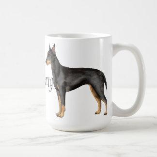 I Love my Manchester Terrier Coffee Mug