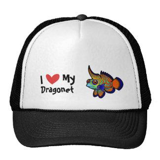 I Love My Mandarin / Dragonet Fish Trucker Hat