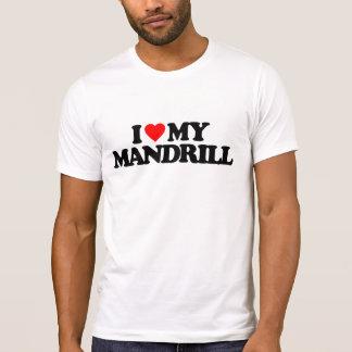 I LOVE MY MANDRILL T-Shirt