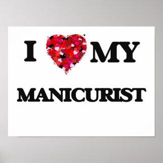 I love my Manicurist Poster