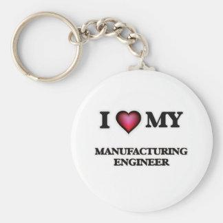 I love my Manufacturing Engineer Keychain