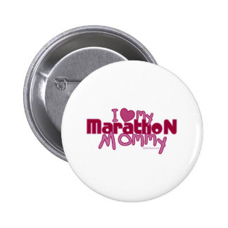 I Love My Marathon Mommy Buttons