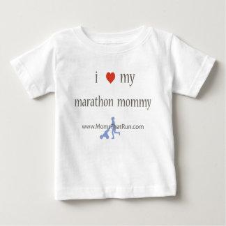 i love my marathon mommy unisex t-shirt