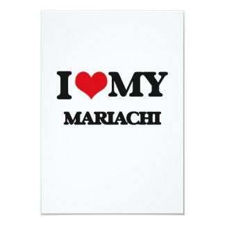 I Love My MARIACHI Custom Invitation