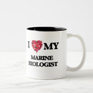 I love my Marine Biologist Two-Tone Coffee Mug