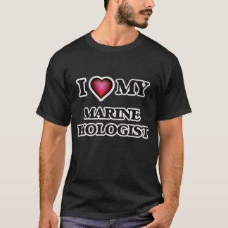 I love my Marine Biologist T-Shirt