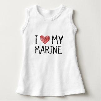 I Love My Marine Dress