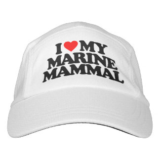 I LOVE MY MARINE MAMMAL HAT