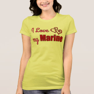 I Love my Marine, shirt