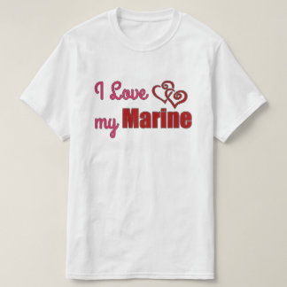 I Love my Marine, VALUE shirt