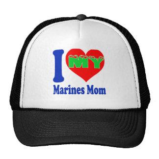 I love my Marines Mom. Trucker Hat