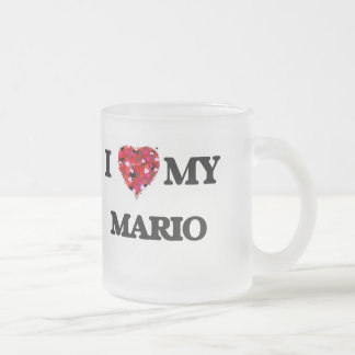I love my Mario 10 Oz Frosted Glass Coffee Mug