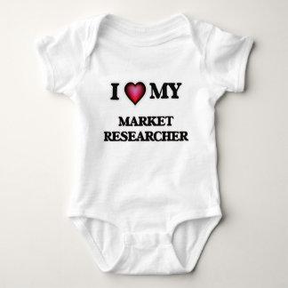 I love my Market Researcher Baby Bodysuit
