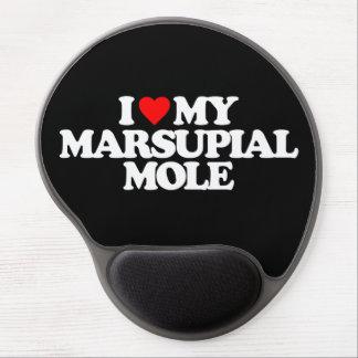 I LOVE MY MARSUPIAL MOLE GEL MOUSE MATS