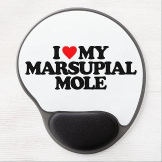 I LOVE MY MARSUPIAL MOLE GEL MOUSEPADS