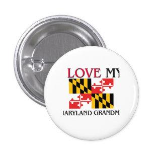 I Love My Maryland Grandma Buttons